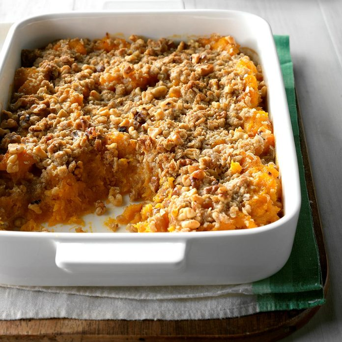 Maple Winter Squash Casserole