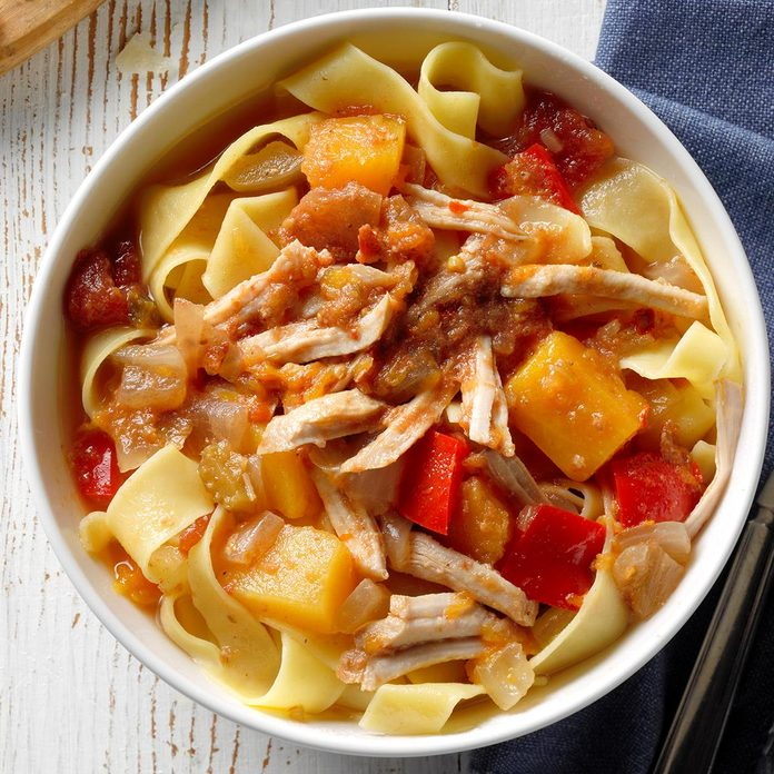 Spicy Pork and Butternut Squash Ragu