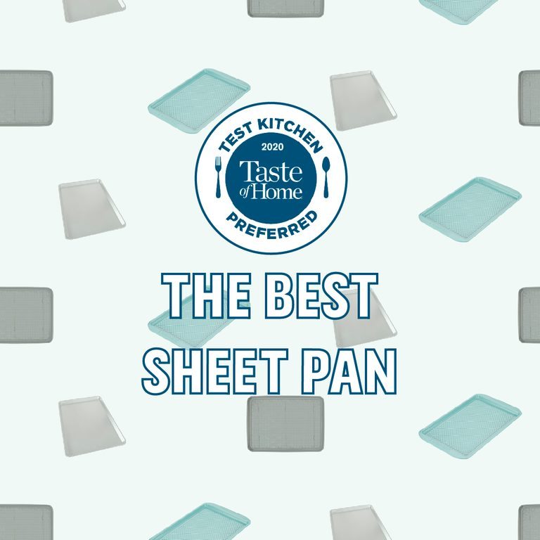 Test Kitchen Preferred the best sheet pan