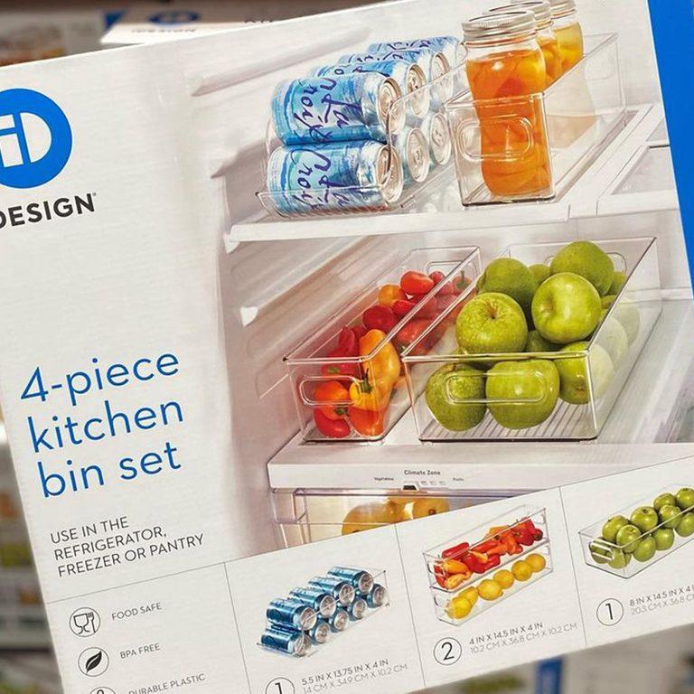 Costco kitchen bin set