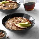 Apple pie steel cut oatmeal