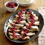 Pressure-Cooker Turkey with Berry Compote