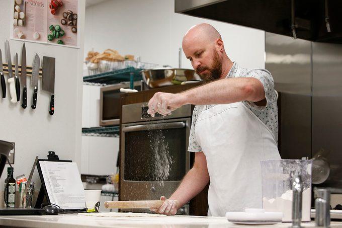 Josh Rink in the Taste of Home Test Kitchen