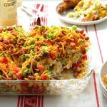 Chili Corn Bread Salad