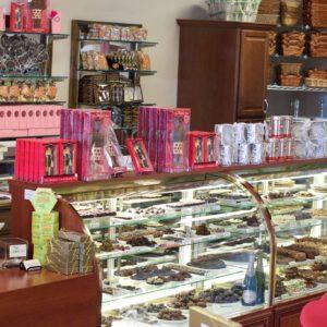 chocolate shops