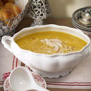 Acorn Squash & Pear Soup