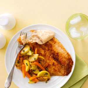 Ancho Chili-Spiced Tilapia
