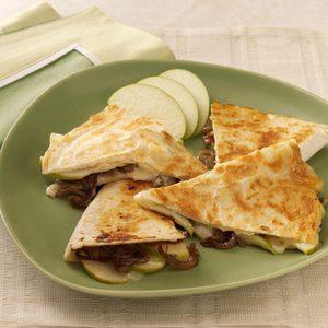Apple Brie Quesadillas