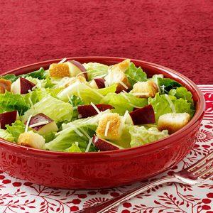 Apple Caesar Salad