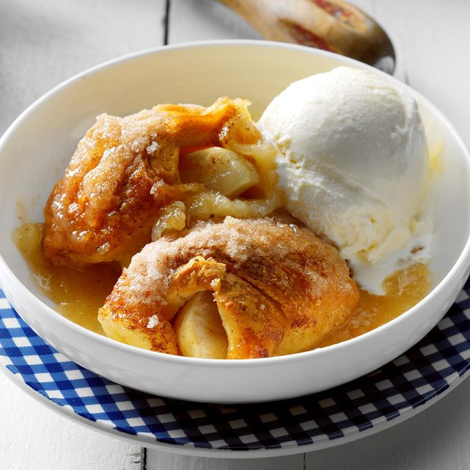 Inspired By: Cracker Barrel's Baked Apple Dumplin'