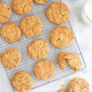 Apple Peanut Butter Cookies