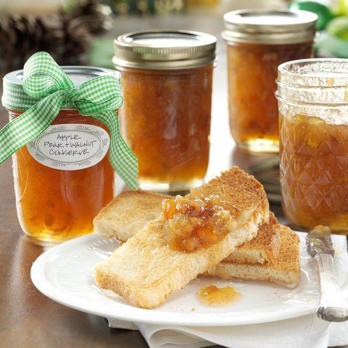 Apple Pear & Walnut Conserve