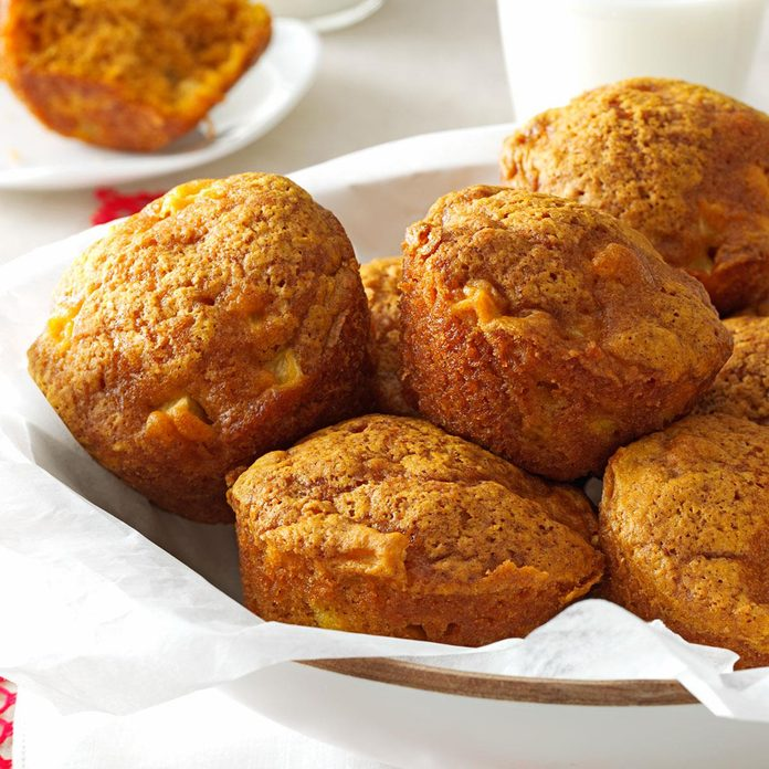 New Hampshire: Apple Pumpkin Muffins