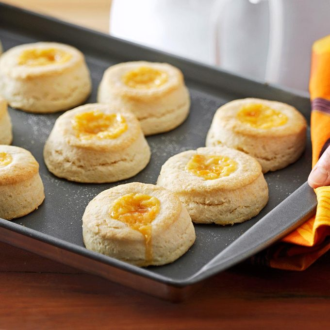 Apricot Cream Biscuits