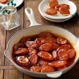 Apricot Kielbasa Slices
