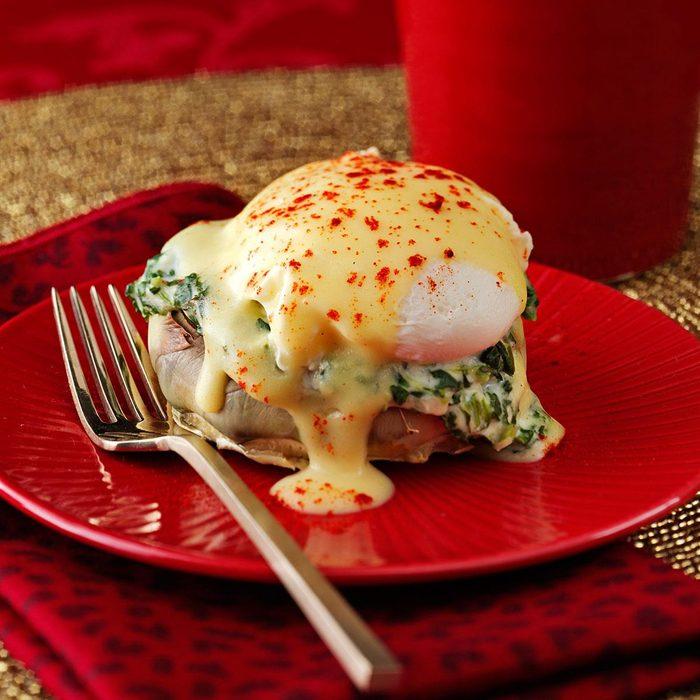 Artichoke & Spinach Eggs Benedict