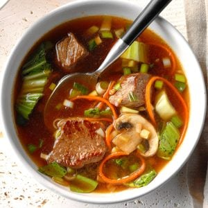 Asian Vegetable-Beef Soup