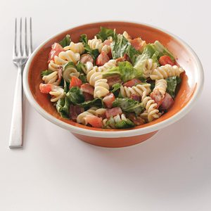 BLT Salad with Pasta