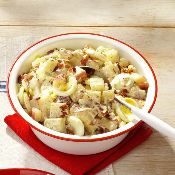 Bacon & Egg Potato Salad