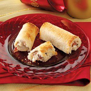 Bacon Mushroom Roll-Ups