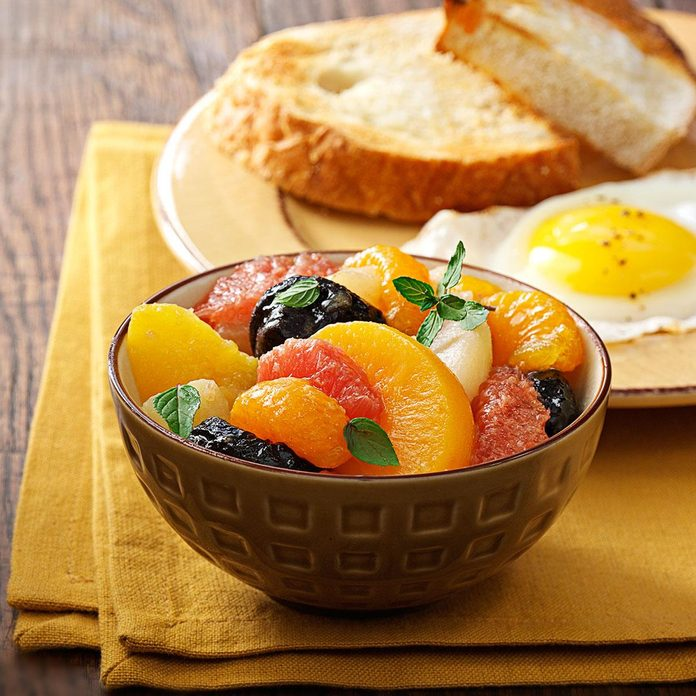 Baked Fruit Compote