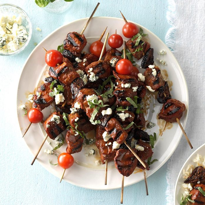 Balsamic-Glazed Fig & Pork Tenderloin
