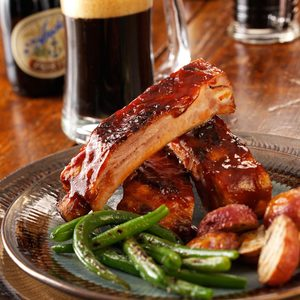 Barbecued Ribs with Beer