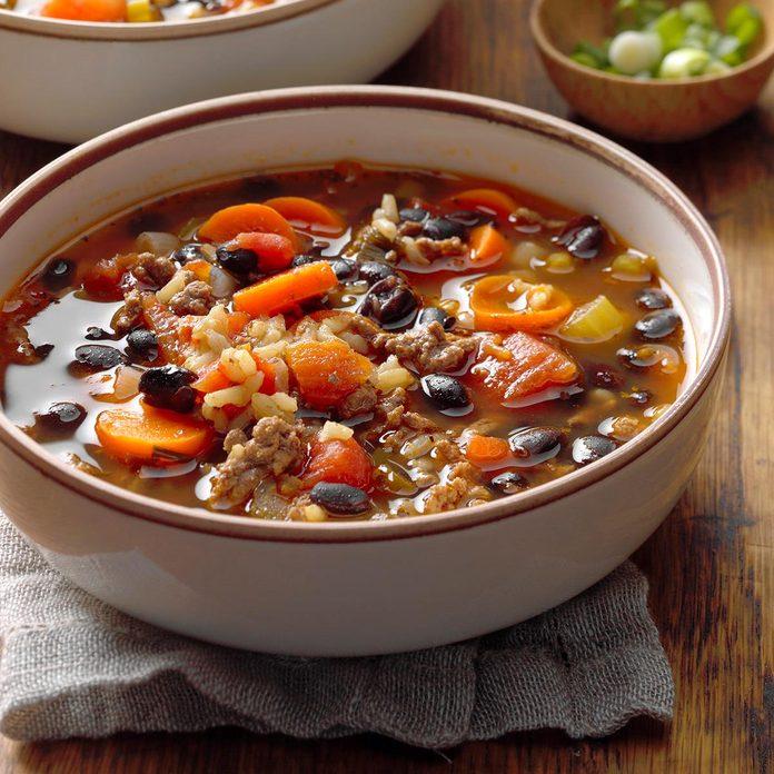 Beef & Black Bean Soup