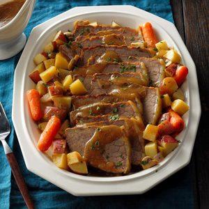 Beef Roast Dinner