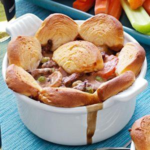 Beef and Mushroom Potpies