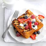 Berried Treasure Angel Food Cake