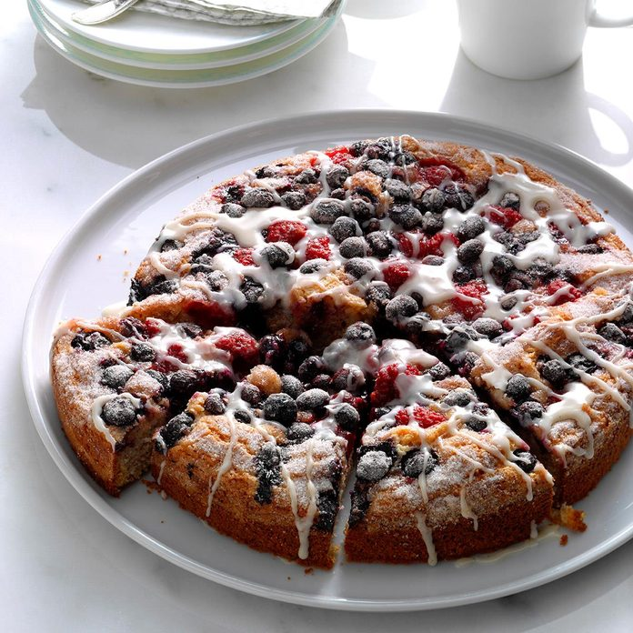 Inspired by: Starbucks Very Berry Coffee Cake