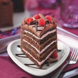 Best Chocolate Raspberry Torte