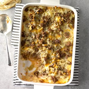Chiles Rellenos Breakfast Bake