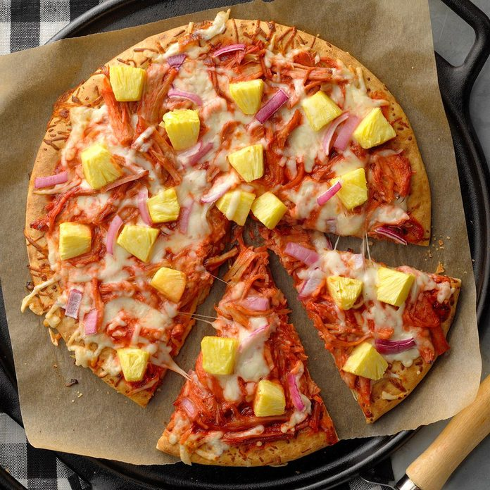 Inspired By: Hawaiian Chicken Pizza
