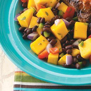 Black Bean-Mango Salad