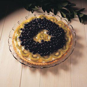 Blueberry/Kiwi Flan