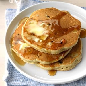 Blueberry Maple Sugar Pancakes