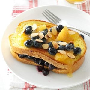 Blueberry-Stuffed French Toast