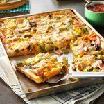 Breadstick Pizza