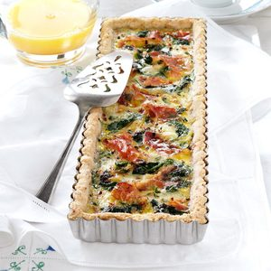 Brie and Prosciutto Tart