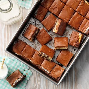 Broadway Brownie Bars