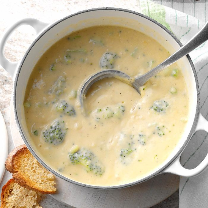 Inspired by: Panera Broccoli Cheddar Soup