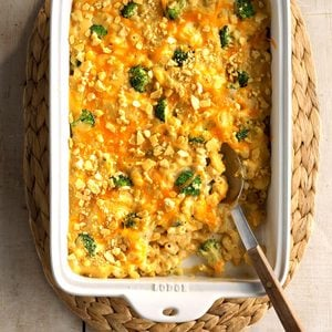 Broccoli Mac & Cheese Bake