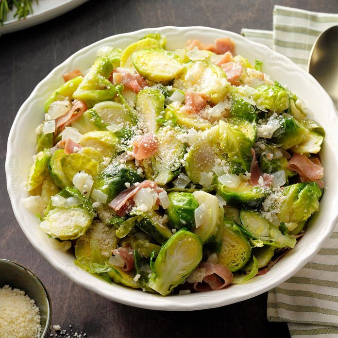 Brussels Sprouts Saute