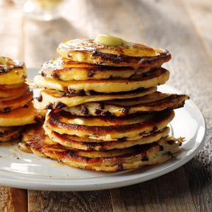 Buttermilk Chocolate Chip Pancakes