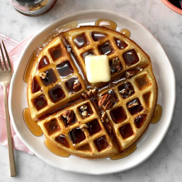 Inspired by: Waffle House Pecan Waffle