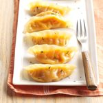 Butternut-Gouda Pot Stickers