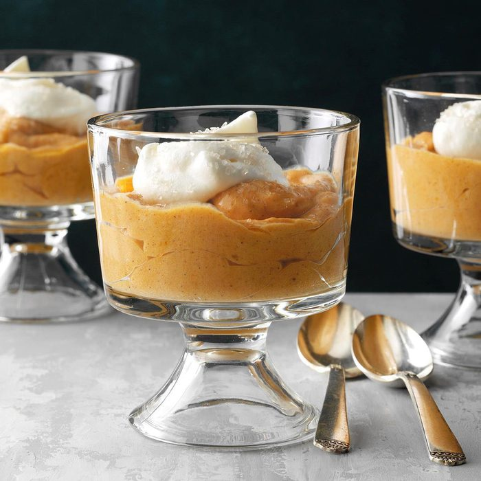 Butterscotch Pumpkin Mousse