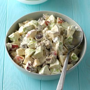 Candy Bar Apple Salad